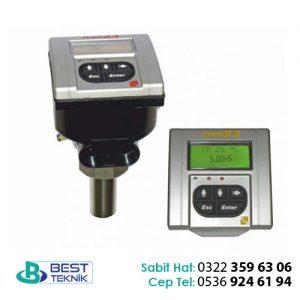 Daldırma Tip Elektromanyetik Debimetre (Göstergeli)