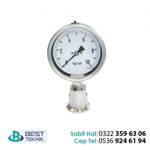 ISO2852 Tip Diyaframlı Manometre PDT106